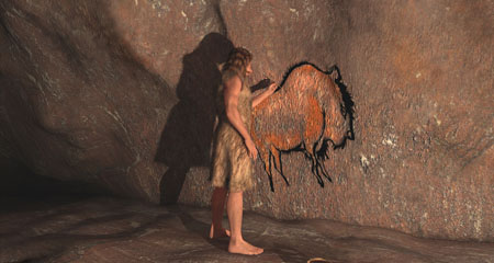 Did Neanderthals Produce Cave Paintings?
