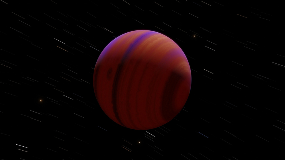 Another Bizarre Exoplanet