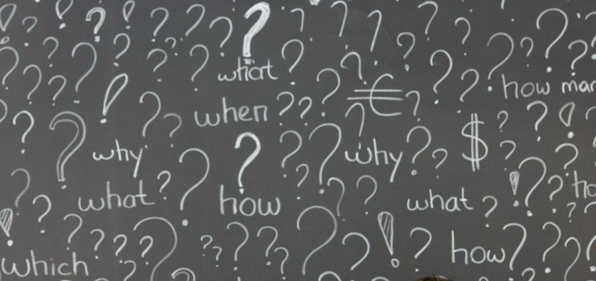 Never Fear an Honest Question