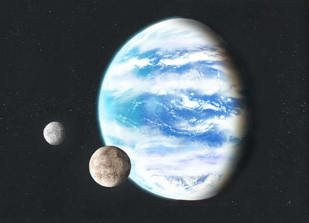 Waterworld Planets Are Acidic, Primordial Earth Was Not