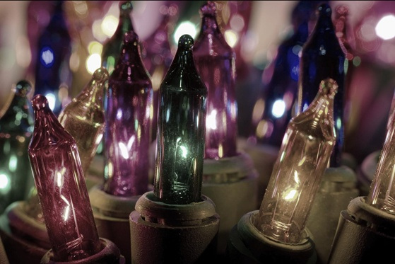 Bright Lights, Sparkling Trees, Joyful Music, Delicious Treats
