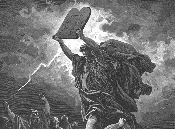 Moses, the Original Mythbuster