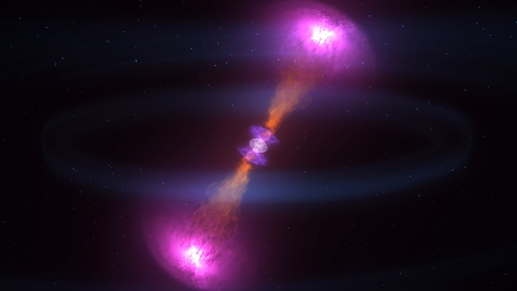 Neutron Star Merger Produces a Kilonova and Valuable Metals